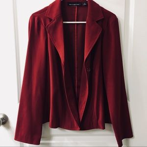 Deep Red blazer